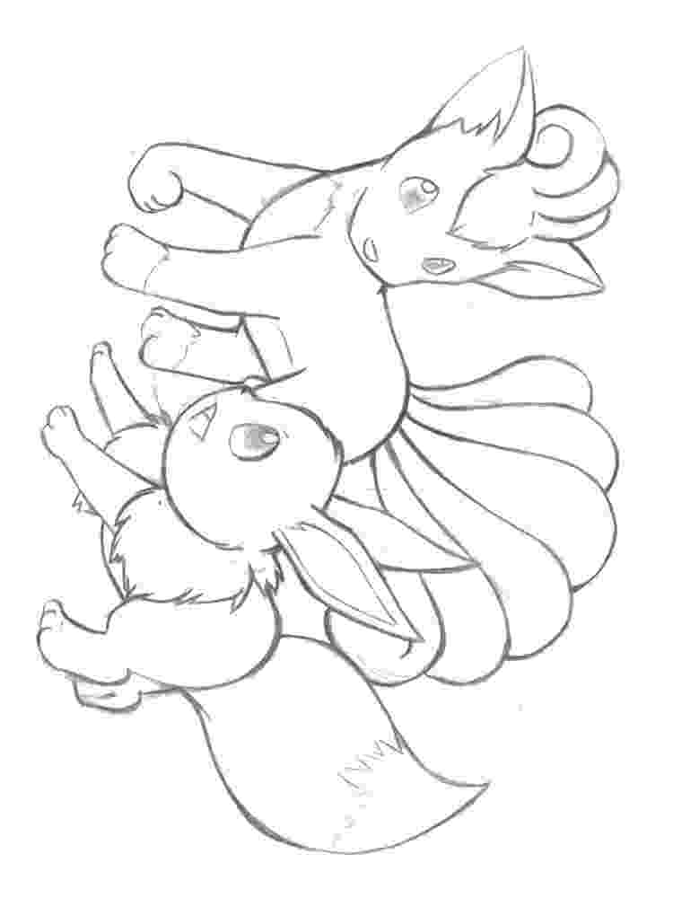 vulpix coloring pages vulpix coloring pages download and print for free coloring vulpix pages