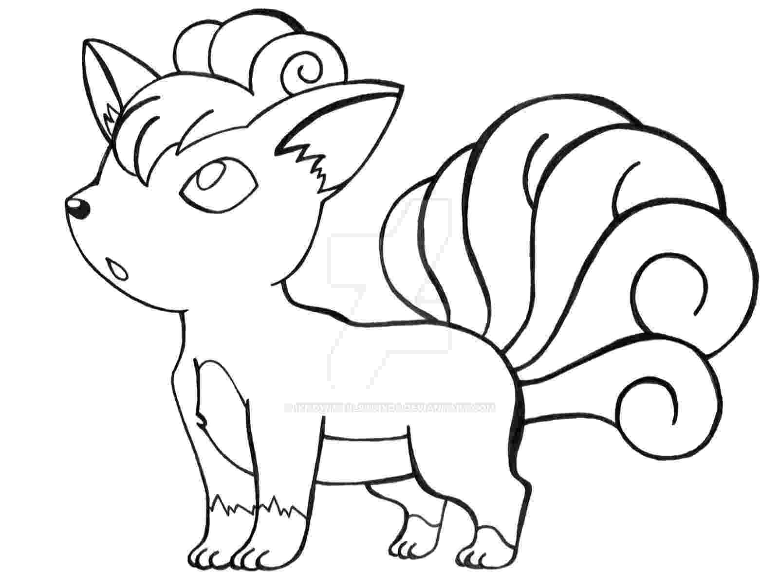 vulpix coloring pages vulpix coloring pages download and print for free vulpix pages coloring