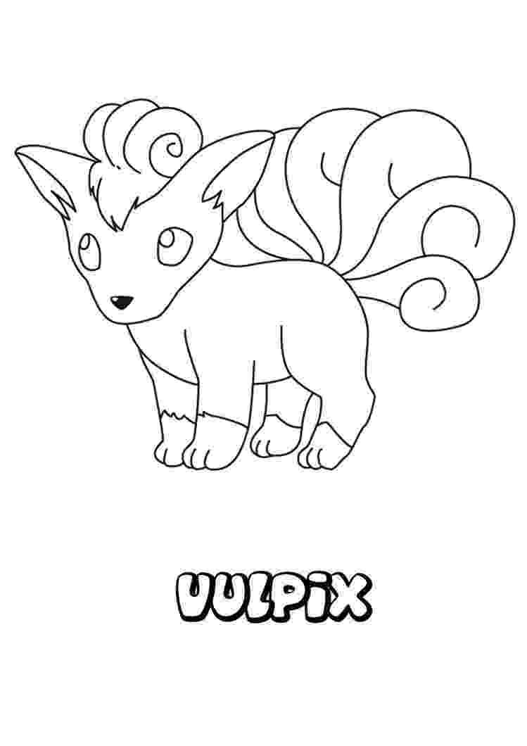 vulpix coloring pages vulpix coloring pages getcoloringpagescom coloring vulpix pages