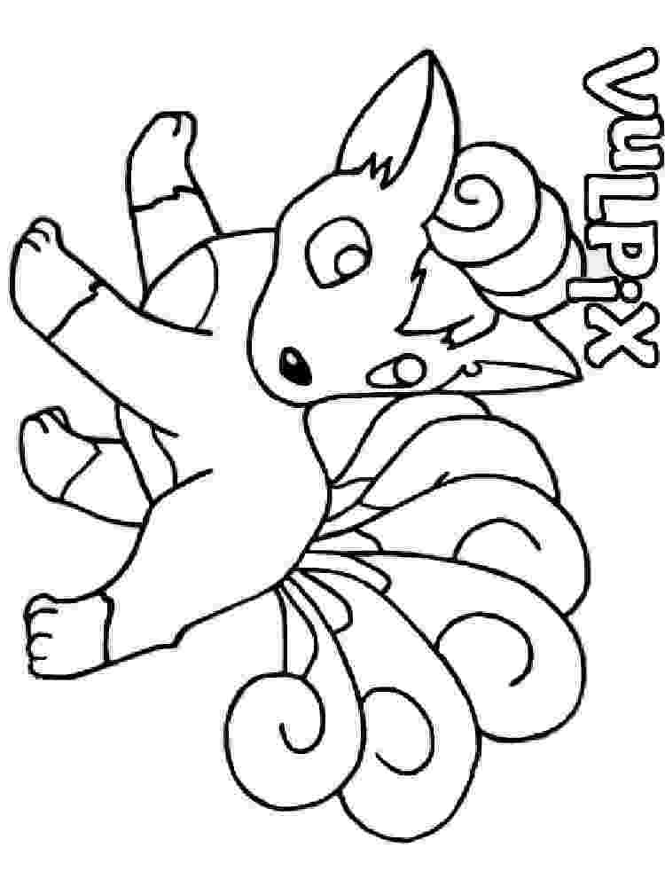 vulpix coloring pages vulpix free lineart by kajiookami on deviantart vulpix pages coloring