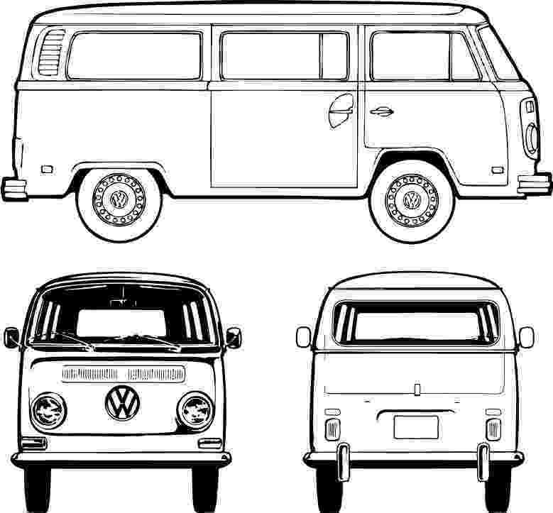 vw bus sketch blank bus for artwork vw bus pinterest buses sketch bus vw