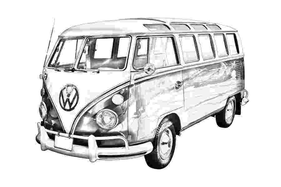 vw bus sketch pencil drawing vw bus adventures pinterest sketch bus vw