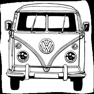 vw bus sketch tekeningen van volkswagen busjes cheetahtravel vehicles sketch vw bus