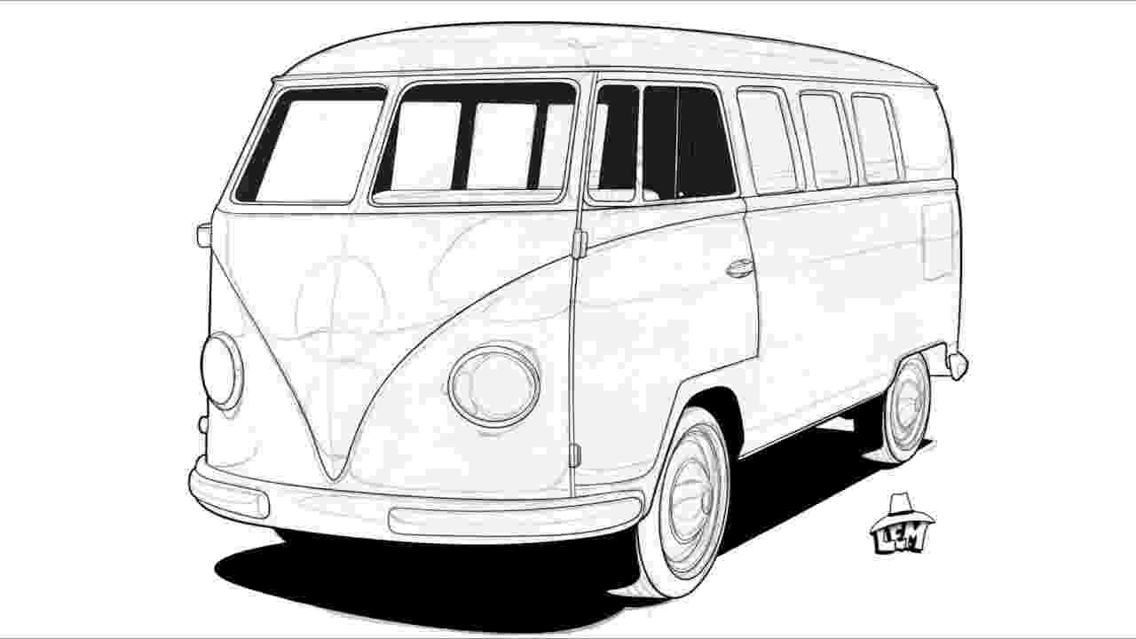 vw bus sketch vw bus drawings fine art america bus sketch vw