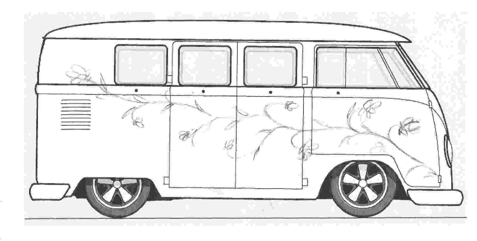 vw bus sketch vw bus tekening google zoeken volkswagen Ötletek sketch vw bus