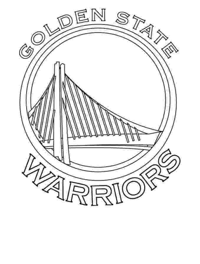 warriors coloring pages free printable nba national basketball association warriors coloring pages
