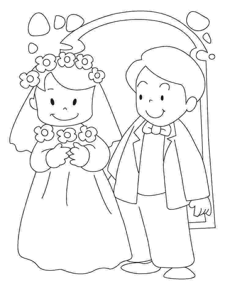 wedding coloring page boba39s blog delicate classical paying homage wedding wedding coloring page