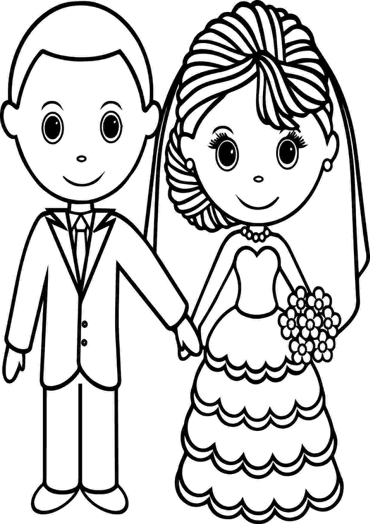wedding coloring page printable personalized wedding coloring activity by coloring page wedding