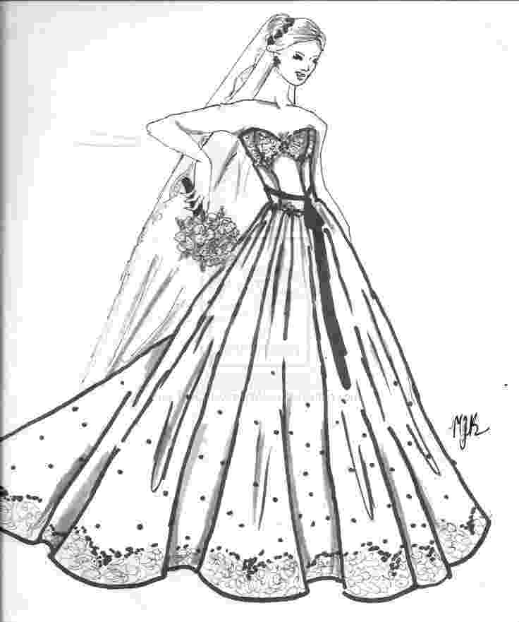 wedding dress coloring pages barbie wedding dress coloring pages 4jpg wedding dress coloring wedding pages
