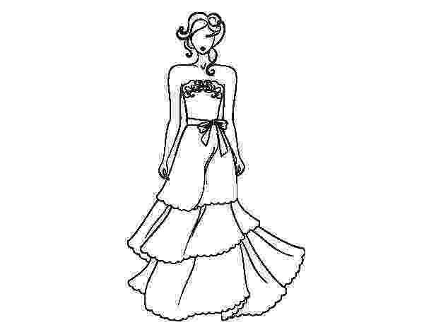 wedding dress coloring pages free printable coloring pages for girls coloring pages wedding dress