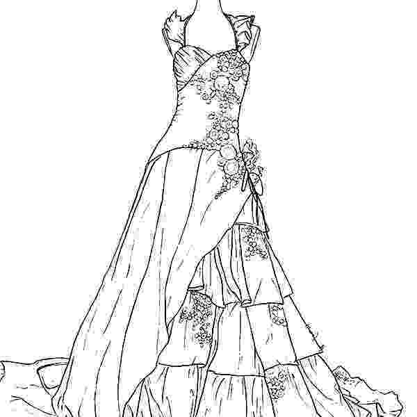 wedding dress coloring pages wedding dress coloring pages coloring home coloring pages wedding dress