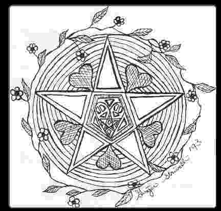 wiccan coloring pages magic circle symbols magic symbols mandala coloring coloring wiccan pages