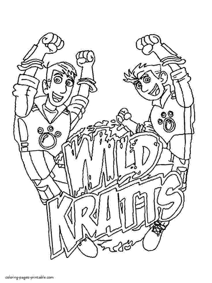 wild kratts coloring book wild kratts coloring pages best coloring pages for kids book wild coloring kratts