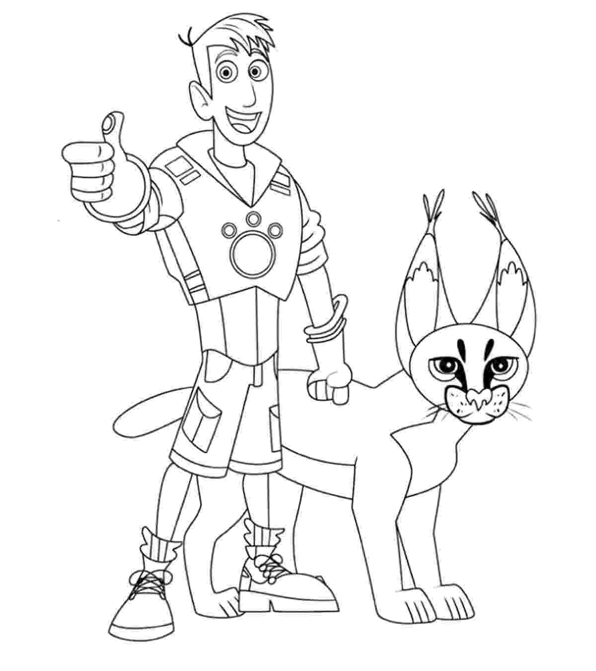 wild kratts coloring wild kratts coloring pages best coloring pages for kids coloring kratts wild 1 1