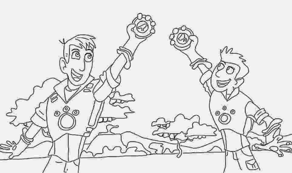 wild kratts pictures wild kratts coloring pages best coloring pages for kids kratts pictures wild 1 1