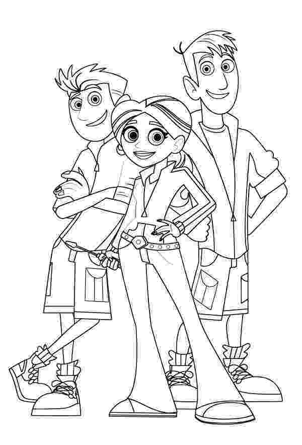 wild kratts pictures wild kratts coloring pages movies and tv show coloring wild pictures kratts