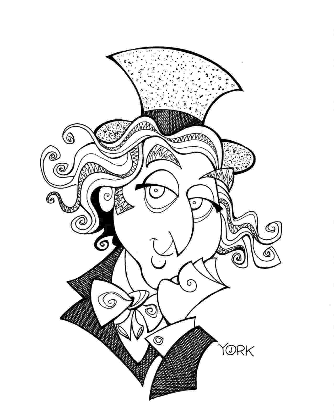 willy wonka coloring pages roald dahl colouring pages coloring pages wonka willy