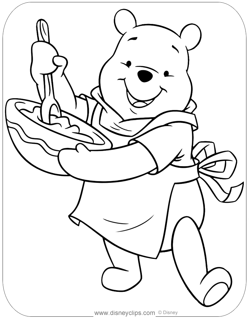 winnie pooh colouring pages winnie the pooh coloring pages disney39s world of wonders colouring pooh pages winnie