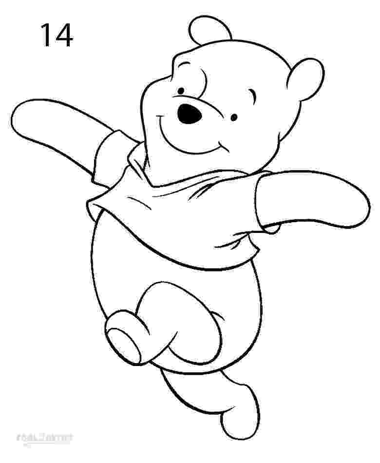 winnie the pooh characters to draw pooh bear drawing at getdrawingscom free for personal winnie characters the pooh to draw