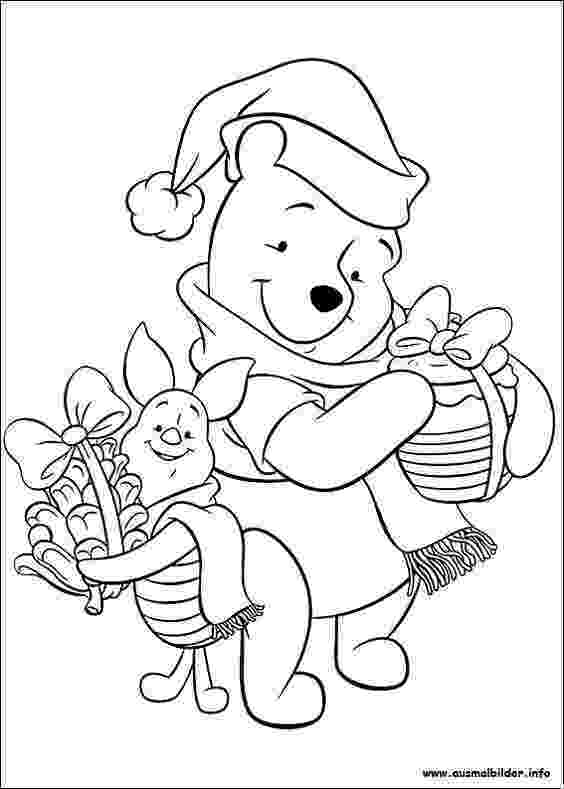 winnie the pooh christmas coloring pages 1459 best images about disney pooh bear and friends on coloring christmas pages pooh the winnie