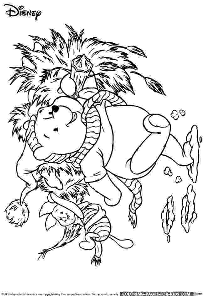 winnie the pooh christmas coloring pages 147 best winnie the pooh coloring images on pinterest pages the pooh coloring winnie christmas