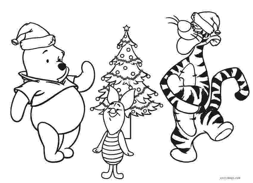winnie the pooh christmas coloring pages 7 winnie the pooh christmas coloring pages winnie pages the coloring christmas pooh