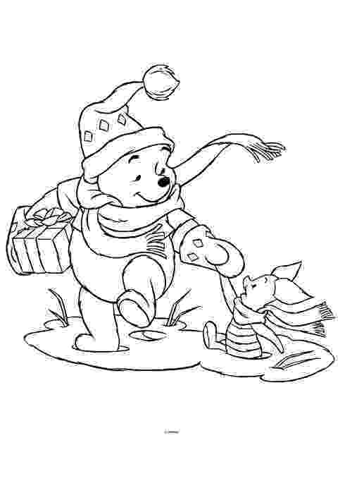 winnie the pooh christmas coloring pages free coloring pages winnie the pooh christmas coloring pages coloring pages the christmas winnie pooh