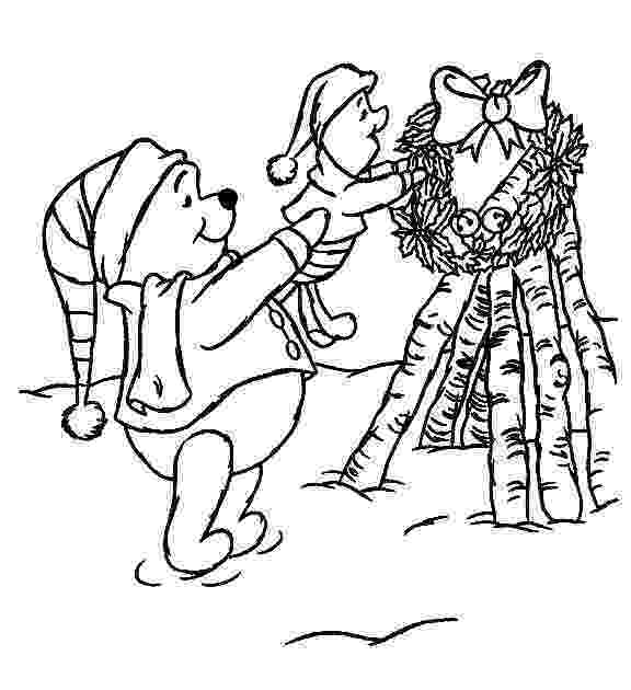 winnie the pooh christmas coloring pages free printable winnie the pooh coloring pages for kids pages pooh coloring winnie the christmas