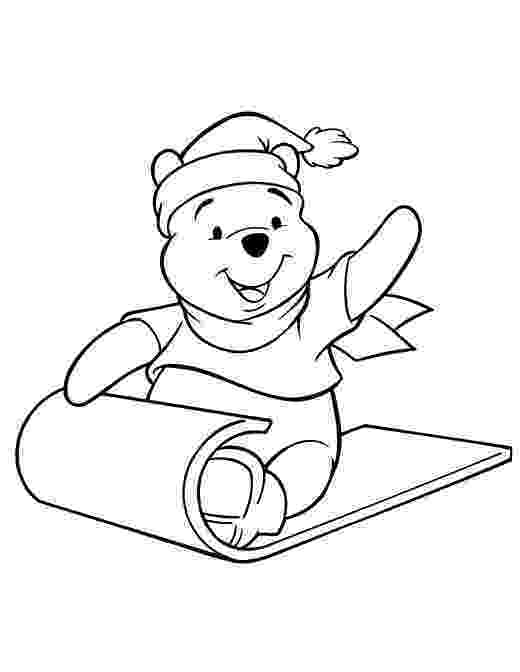 winnie the pooh christmas coloring pages winnie the pooh christmas coloring pages coloring home winnie the pages coloring christmas pooh
