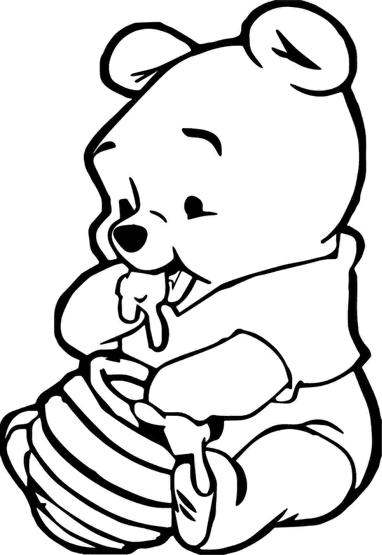 winnie the pooh colouring baby animal coloring pages best coloring pages for kids the winnie colouring pooh