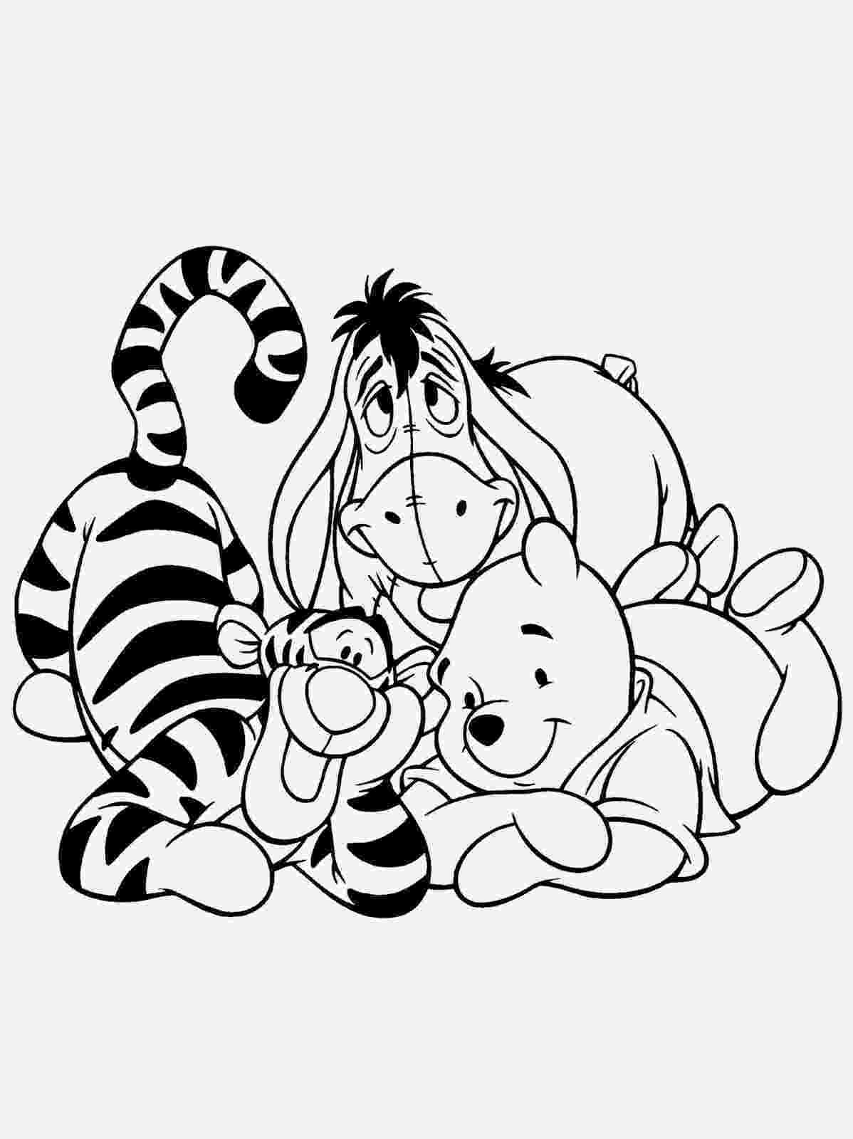 winnie the pooh colouring winnie the pooh bear disney coloring pages winnie the colouring pooh