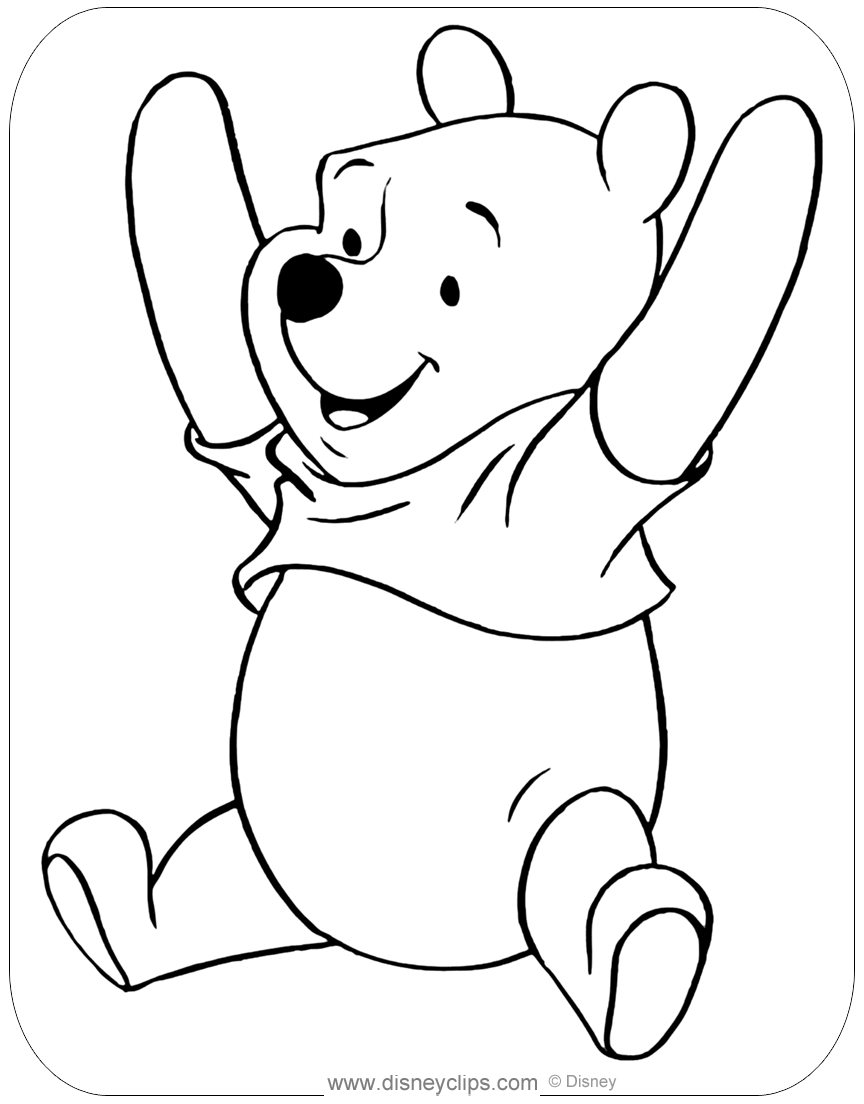winnie the pooh colouring winnie the pooh coloring pages disney39s world of wonders colouring pooh the winnie