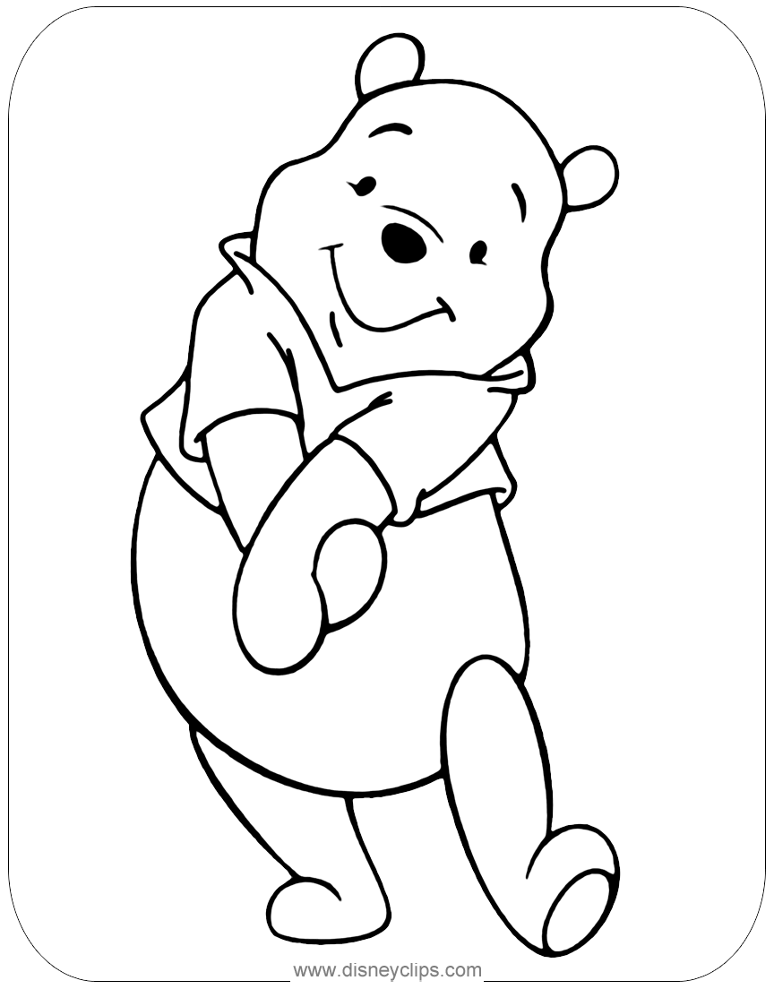 winnie the pooh colouring winnie the pooh coloring pages disney39s world of wonders winnie pooh colouring the