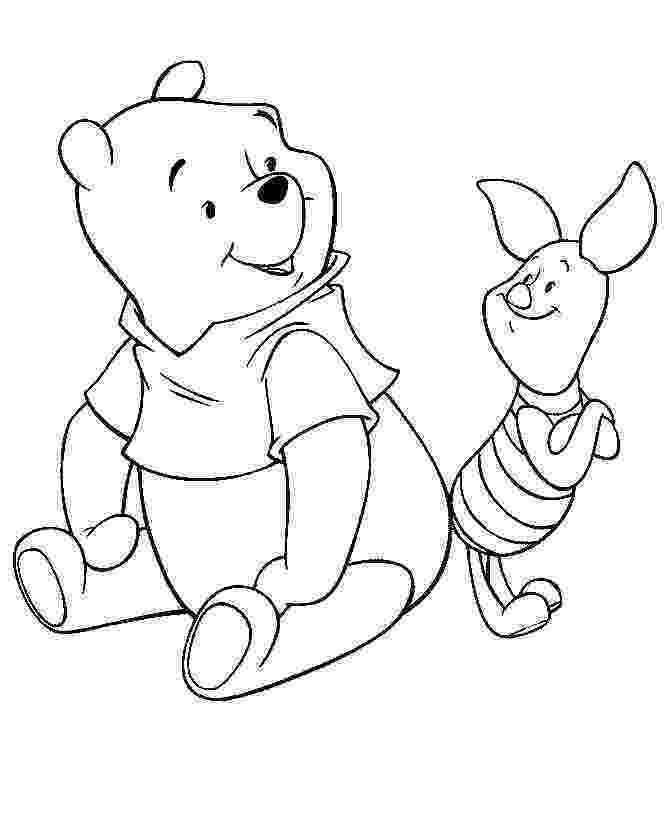 winnie the pooh template free printable winnie the pooh coloring pages for kids template the pooh winnie