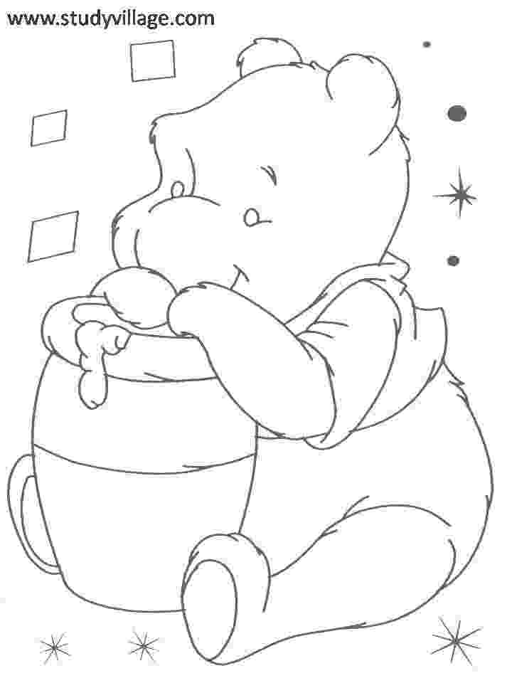 winnie the pooh template pooh face coloring pages coloring pages pooh the winnie template