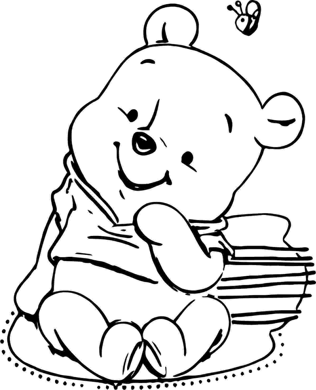 winnie the pooh template wacky wednesday 3 january 18 is winnie the pooh day winnie the pooh template