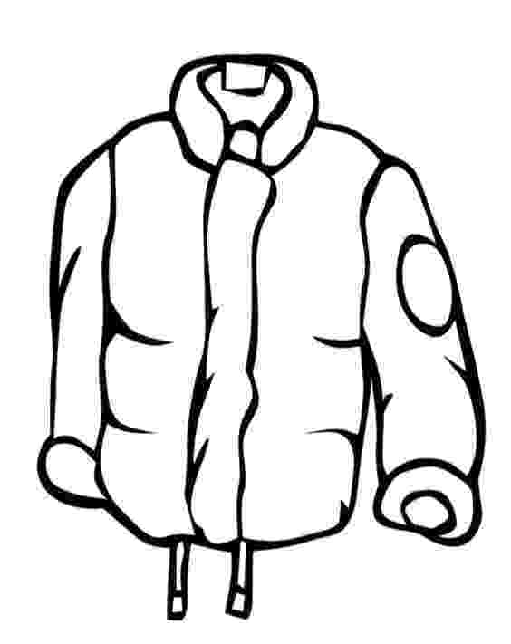 winter coat coloring page winter clothes clip art clipartsco coat winter page coloring
