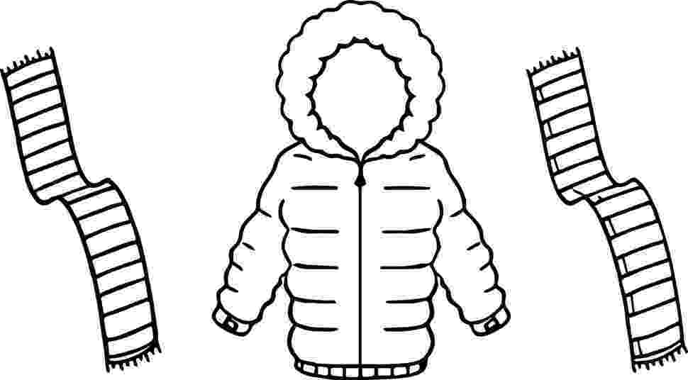 winter coat coloring page winter coat drawing at getdrawingscom free for personal coat coloring winter page