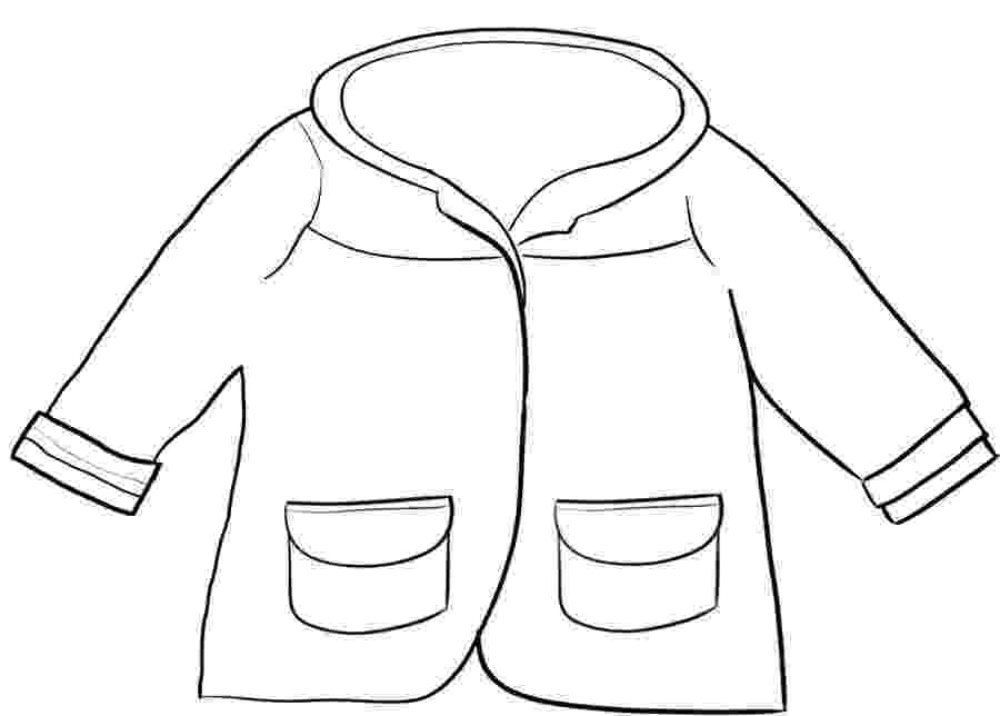 winter coat coloring page winter jacket drawing at getdrawingscom free for coat winter page coloring
