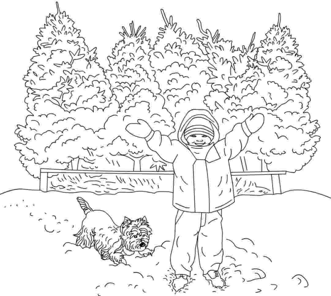 winter scene coloring pages 56 best images about christmas coloring pages on pinterest scene coloring pages winter