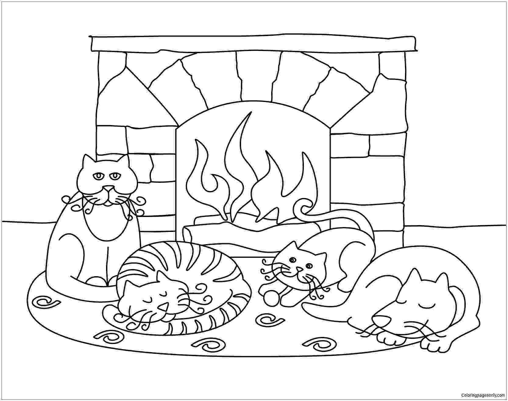 winter scene coloring pages winter coloring pages for adults best coloring pages for winter pages scene coloring
