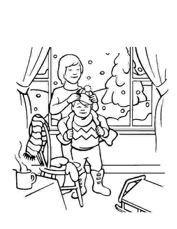 winter scene coloring pages winter scene coloring page 1 audio stories for kids scene winter coloring pages