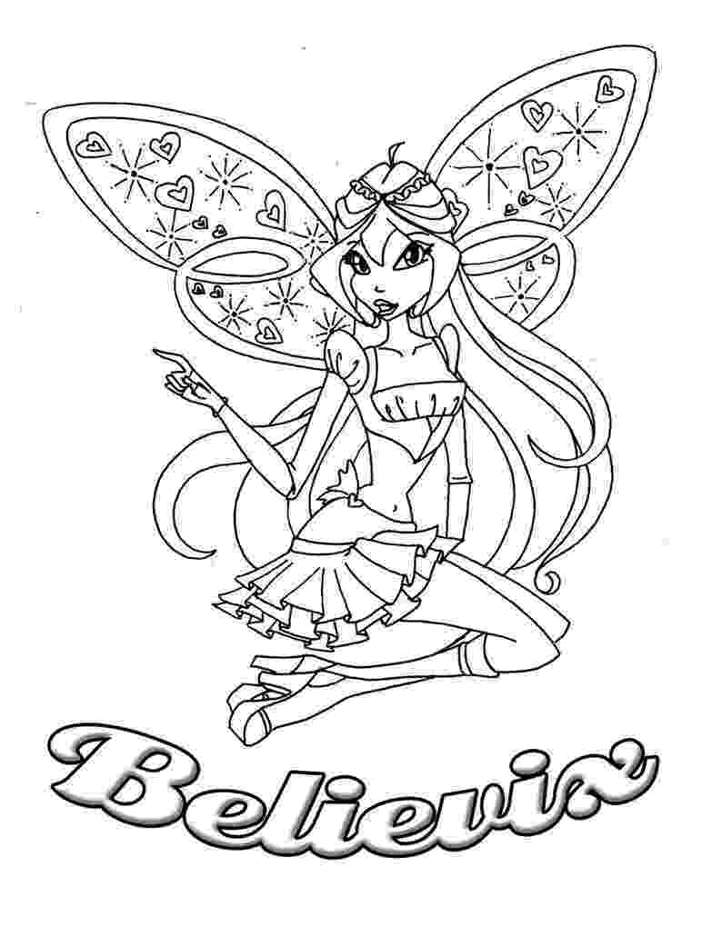 winx club bloom believix coloring pages maxalae winx club believix colouring pages coloring club winx believix bloom pages