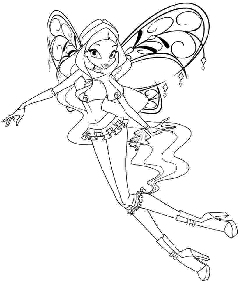 winx club coloring pages layla layla sirenix by elfkena on deviantart coloring winx club layla pages