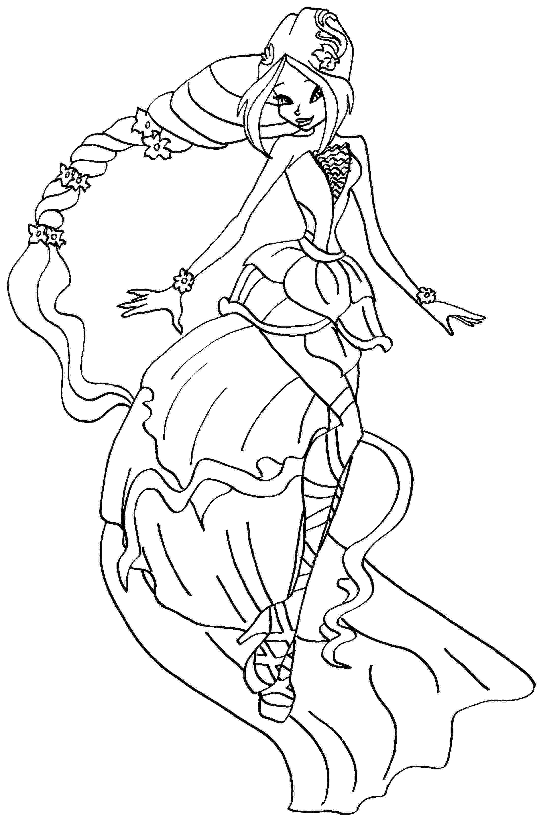 winx club coloring pages layla layla winx coloring pages download and print layla winx club layla pages winx coloring