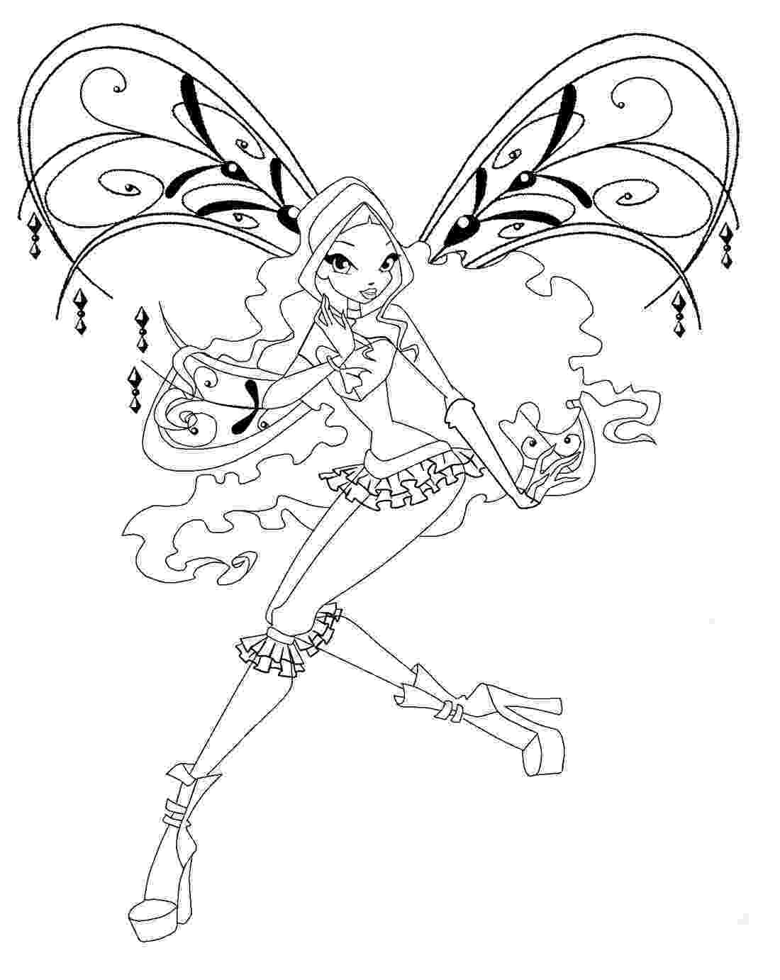 winx club coloring pages layla winx club coloring pages 360coloringpages winx layla club pages coloring