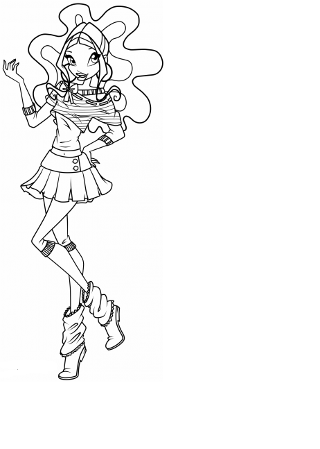 winx club coloring pages layla winx layla coloring pages coloring pages to download and club layla pages winx coloring