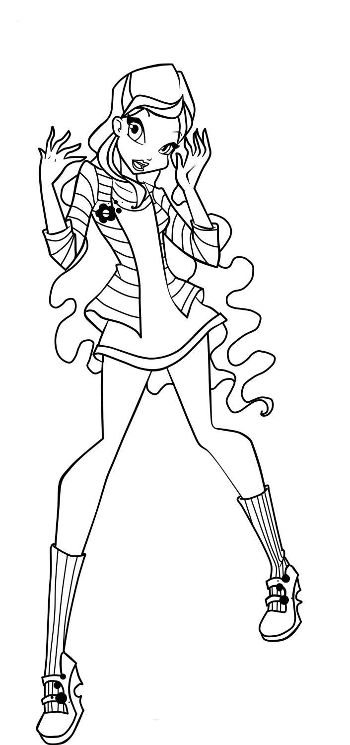 winx club coloring pages layla winx layla coloring pages coloring pages to download and winx club pages layla coloring