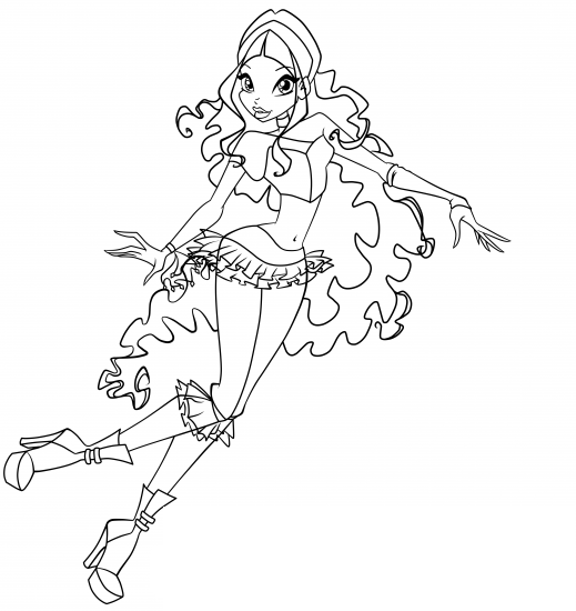 winx club coloring pages layla winx layla coloring pages download and print for free coloring club pages layla winx