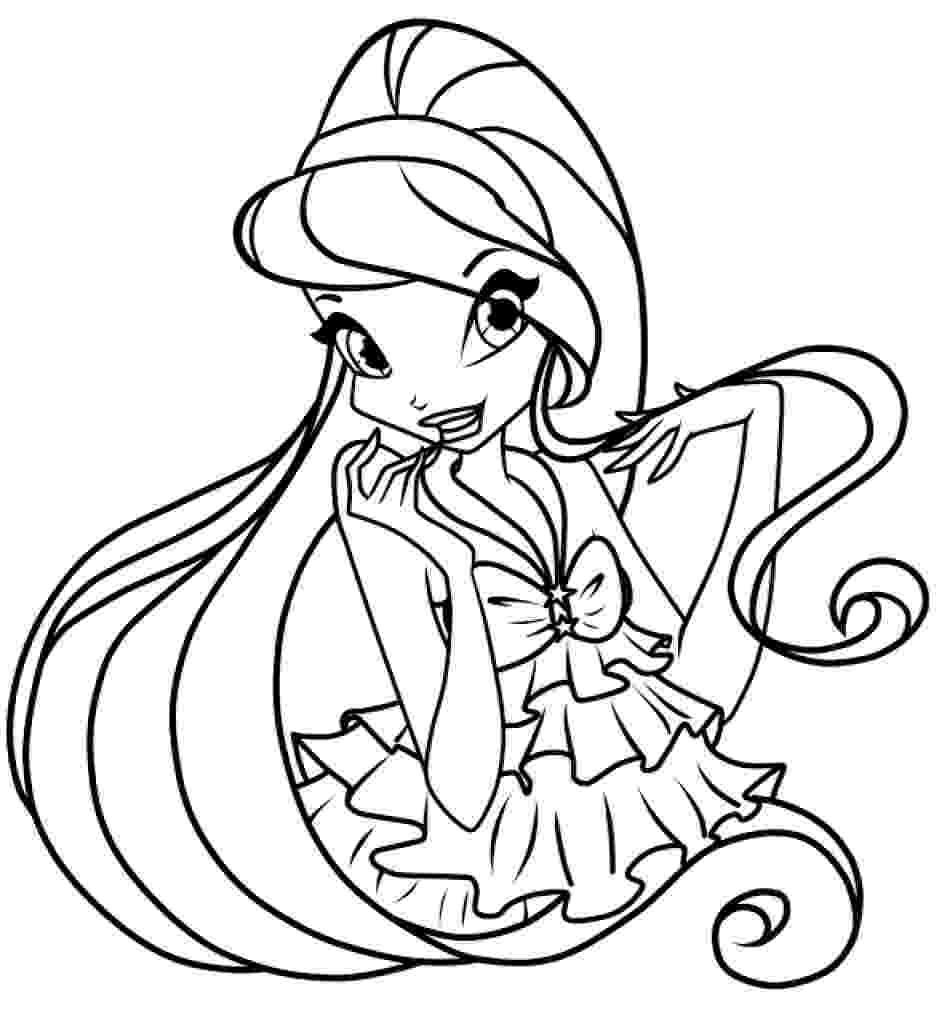 winx club pictures black and white winx club caramel pixie coloring page free printable club black and winx pictures white